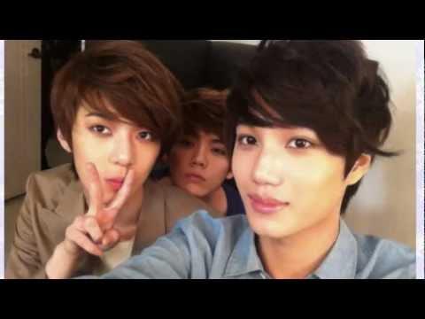 Three Happy Friends {Kai + Se Hun + Lu Han}
