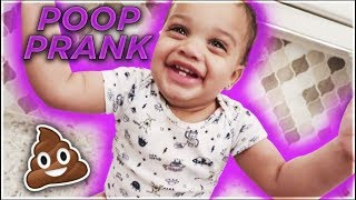 POOP PRANK ON DAD | THE PRINCE FAMILY