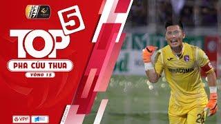 Top 5 cứu thua vòng 15 V-League 2019   VPF Media