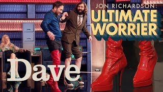 Jon Richardson Joe Wilkinson Walk In High Heels   Dave   Ultimate Worrier