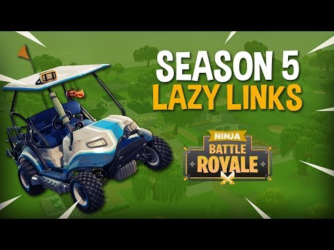 Season 5 Is Out! Landing Lazy Links! - Fortnite Battle Royale Gameplay - Ninja