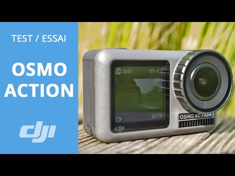 video DJI Osmo Action