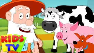 Old MacDonald Had A Farm | kids songs playlist | youtube kids | kids tv 123 song