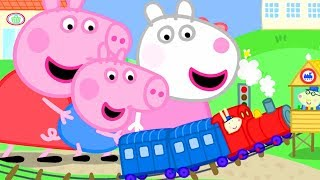 Peppa Pig Official Channel | Giant Peppa Pig and Suzy Sheep Visit Tiny Land