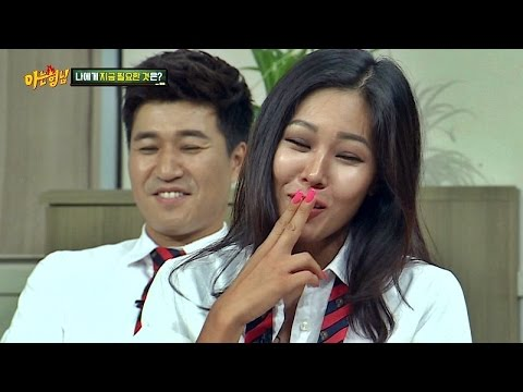 [NO 필터링] '팬터마임의 달인' 제시(Jessi)에 서인영(Seo In Young) 폭발!