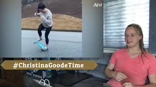 #ChristinaGoodeTime Reaction to ''Talk About a Hard Headed Fail AFV 2020'' by AFV