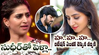 Varshini laughs off rumours about marriage with Jabardasth..
