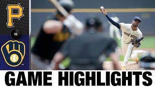 Pirates vs. Brewers Game Highlights (8/4/21) | MLB Highlights