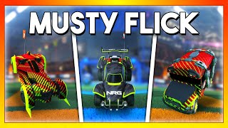 I did a musty flick with every car in Rocket League: Which car is best?