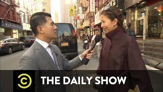 """""""The O'Reilly Factor"""" Gets Racist in Chinatown: The Daily Show"""