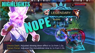 [Highlights] Harith Nerf after Nerf and still Dominating | Mobile Legends: Bang Bang | zkael★