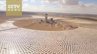 World's biggest solar tower being built in Israel's Negev Desert