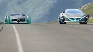Mercedes-Benz Vision AVTR vs Mercedes-Benz Silver Arrow at Highlands