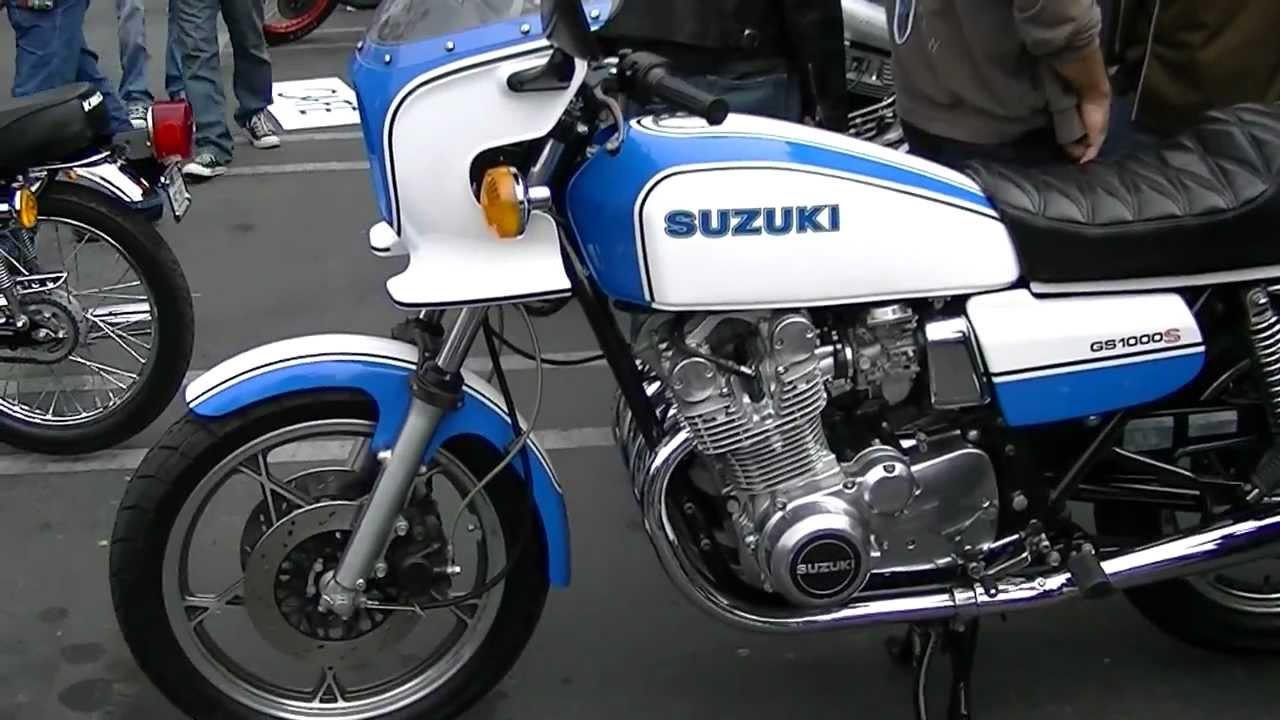 Suzuki Motorcycles For Sale >> 1980 Suzuki GS1000S Motorcycle - YouTube