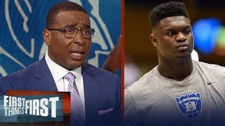 Cris and Nick agree Duke's Zion Williamson should play if he's healthy | CBB | FIRST THINGS FIRST