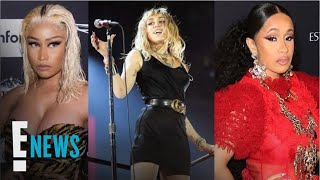 "Miley Cyrus Raps About Nicki Minaj & Cardi B in New Song ""Cattitude"""