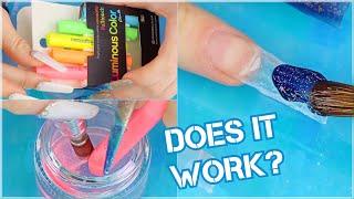 Making Custom Acrylic Powders Using CHALK