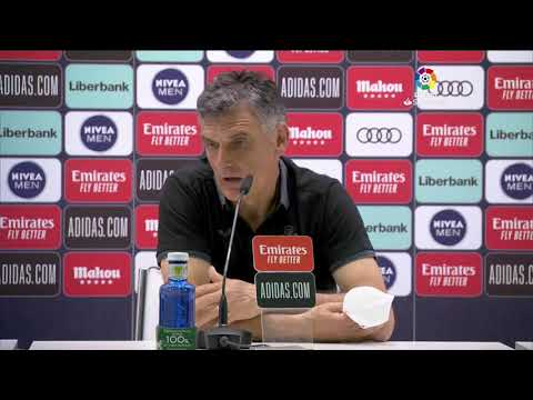 Rueda de prensa Real Madrid vs SD Eibar