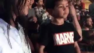 KidzBop concert dance moves