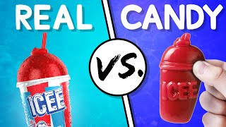 We Try the Ultimate Real vs Candy Challenge #6