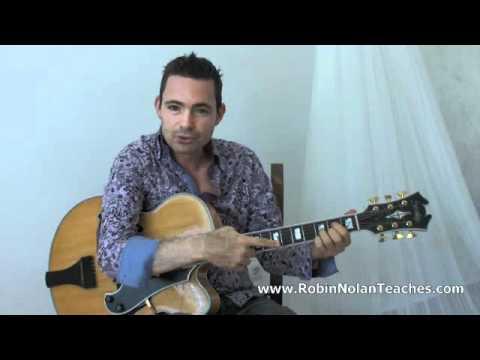 Making a Chord Sound Spanish - Learn Gypsy Jazz Guitar Lesson
