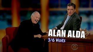 Alan Alda - He EXUDES Goodness - 3/6 Visits In Chronological Order