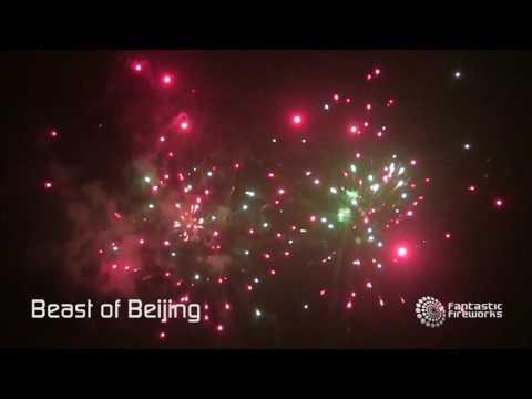 Fantastic Fireworks Beast of Beijing - 109 shot firework