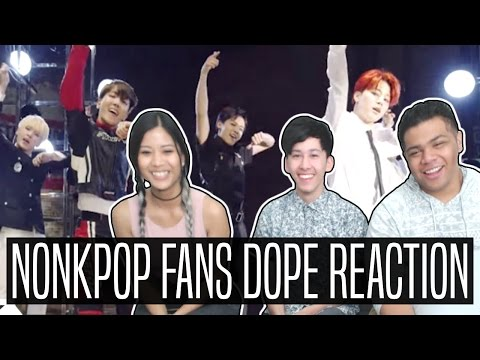 NON-KPOP FANS REACT TO BTS DOPE (PART 1)