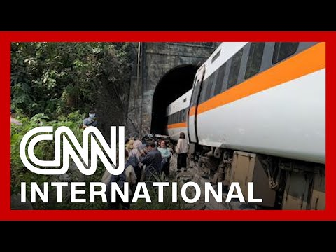 Taiwan: Train carrying passengers derails in tunnel, at least 50 killed