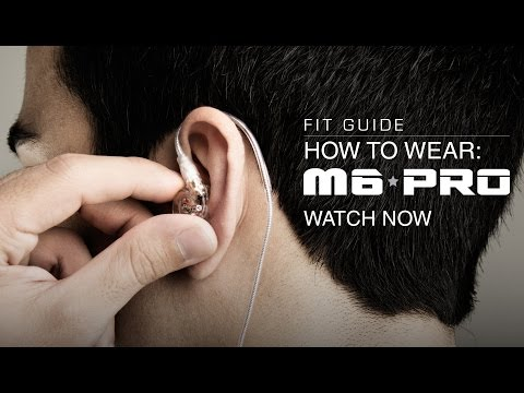 Guide: How to Wear the  MEE audio M6 PRO Musician's In-Ear Monitors