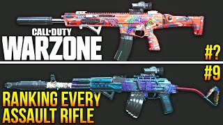 Call of Duty WARZONE: RANKING Every Assault Rifle! (WARZONE Best Loadouts)