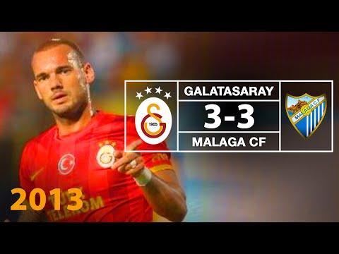 FUTBOL | Opel Dostluk Maçı: Galatasaray 3 -- 3 Malaga CF