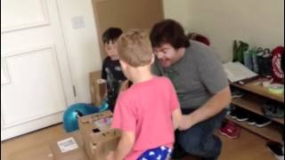 Jack Black's Kids Make Cardboard Arcade Inspired by Caine's Arcade