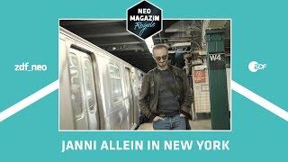 Janni allein in New York | NEO MAGAZIN ROYALE mit Jan Böhmermann - ZDFneo