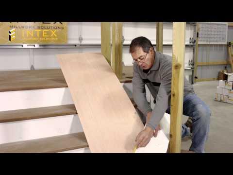 Radius Stair Templating Instruction Video