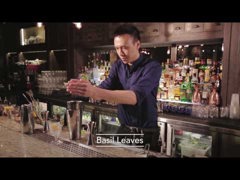 Best Bartender cocktails in Mott 32 by Thomas Tsoi