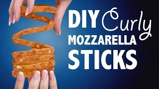 DIY CURLY MOZZARELLA STICKS - VERSUS