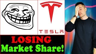 Media and Top Analyst Claim TESLA is Losing Market Share! - (My Counter Response)