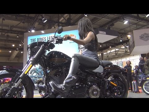 @harleydavidson Harley-Davidson Pro Street Breakout FXSE (2017) Exterior and Interior in 3D