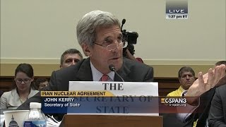 "John Kerry: ""Congressman, I don't need any lessons from you about who I represent."" (C-SPAN)"