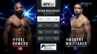 UFC 213  (7.14.2017)  //  Cuba vs Australia  ● Fight Highlights
