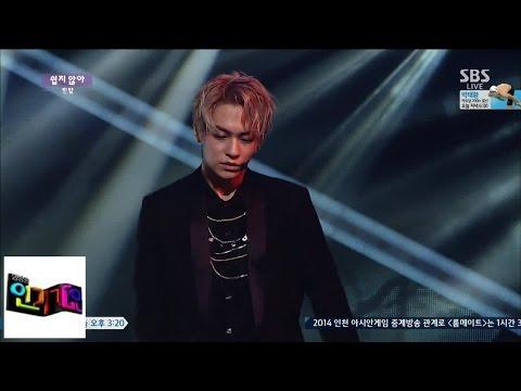 [틴탑 (TEEN TOP)] 쉽지않아 @인기가요 Inkigayo 140921