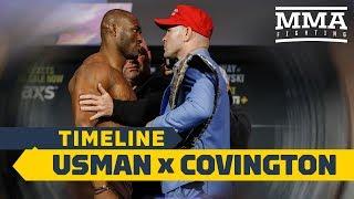 UFC 245 Timeline: Kamaru Usman vs. Colby Covington - MMA Fighting