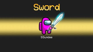 IMPOSTER vs CREWMATE SWORD MOD in Among Us