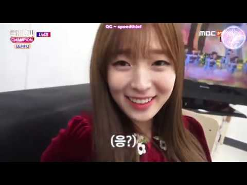 [ENG SUB] 180130 Show Champion Behind - Oh My Girl cut