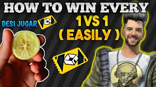 5 Best Trick To Win Every 1 Vs 1 Custom Room In Free Fire 🇮🇳🇵🇰🇧🇩🇳🇵[ Secret Lemon Trick ]