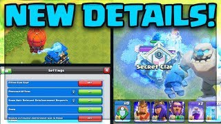 NEW UPDATE Details! The ENTIRE Clash of Clans Update in ONE Video!
