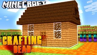 SECURE LAVA MOAT! | Minecraft Crafting Dead