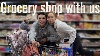 YOUNG PARENTS: fun grocery shopping trip!