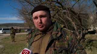 Ополченцы крымского фронта: «оккупанты Крыма— не россияне»